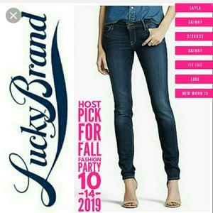 Lucky Brand Jeans Size 2/26X32 Leyla Skinny Fit